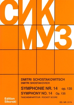 Product Cover for Symphony No. 14, Op. 135