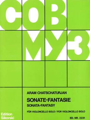 Product Cover for Sonate Fantasie for Solo Cello