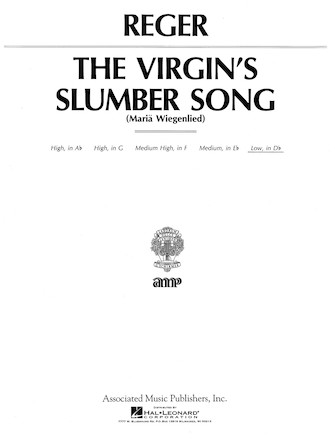 Product Cover for Virgin's Slumber Song