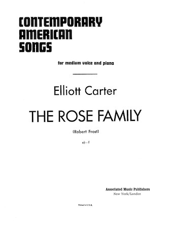 Product Cover for Rose Family