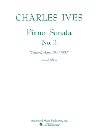 Product Cover for Sonata No. 2 (2nd Ed.) Concord, Mass 1840–60