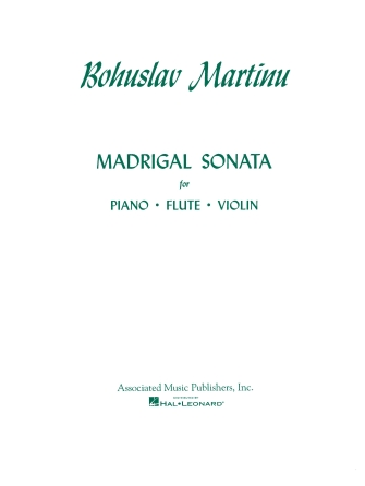 Product Cover for Madrigal Sonata