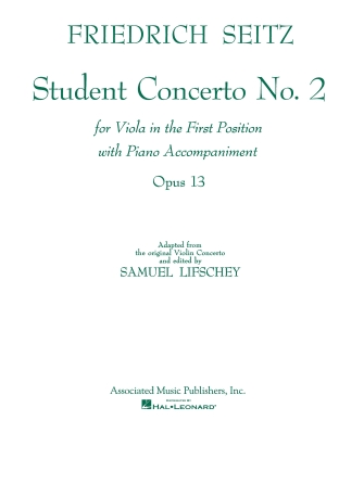 Product Cover for Student Concerto No. 2