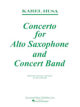 Product Cover for Concerto for Alto Saxophone and Concert Band