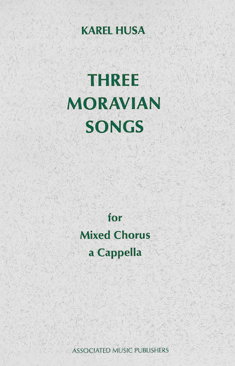 Product Cover for Three Moravian Songs