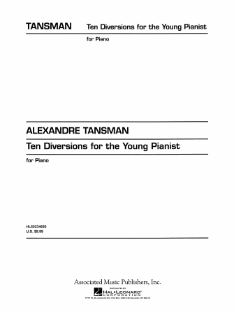 Product Cover for 10 Diversions for the Young Pianist