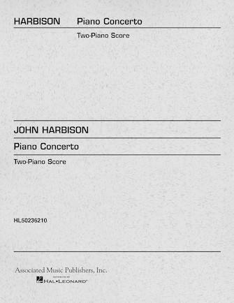 Product Cover for Piano Concerto (2-piano score)