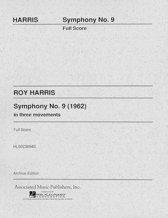 Product Cover for Symphony No. 9 (1962)