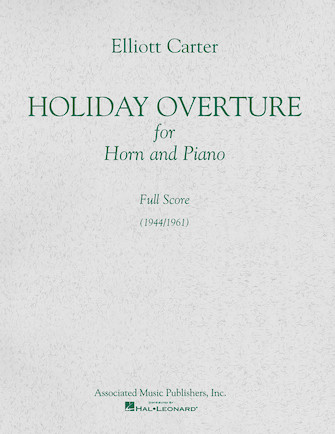 Product Cover for Holiday Overture (1944/1961)