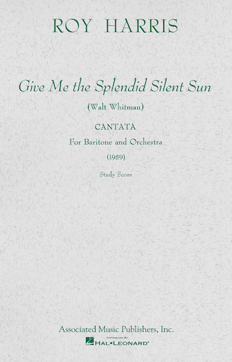 Product Cover for Give Me the Splendid Silent Sun (1959)