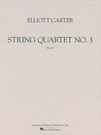 Product Cover for String Quartet No. 3 (1971)