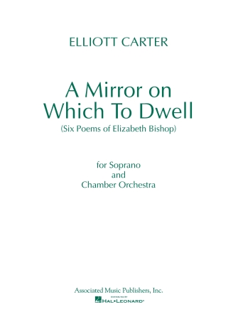 Product Cover for A Mirror on Which to Dwell