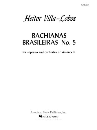 Product Cover for Bachianas Brasileiras No. 5