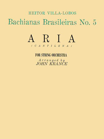 Product Cover for Aria (Bachianas Brasileiras No. 5)