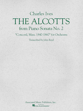 Product Cover for The Alcotts (from Piano Sonata No. 2, Third Movement)