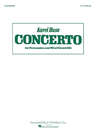 Product Cover for Concerto for Percussion and Wind Ensemble