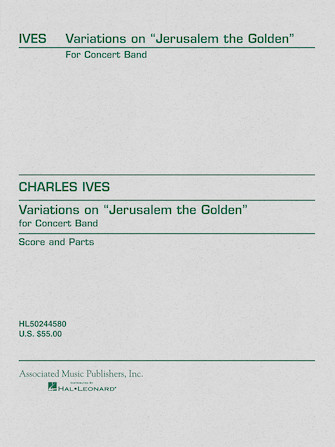 """Product Cover for Variations on """"Jerusalem the Golden"""""""