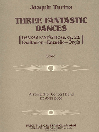Product Cover for Three (3) Fantastic Dances, Op. 22
