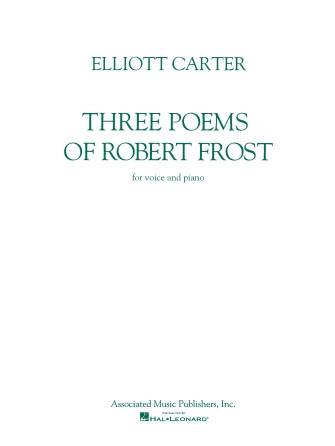 Product Cover for Three Poems of Robert Frost
