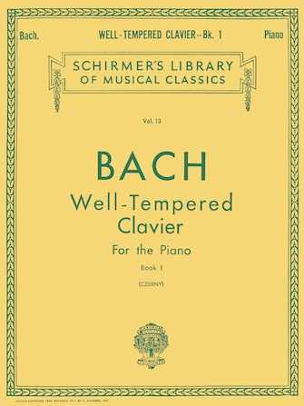 Well Tempered Clavier – Book 1