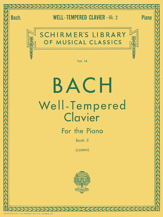 Product Cover for Well Tempered Clavier – Book 2