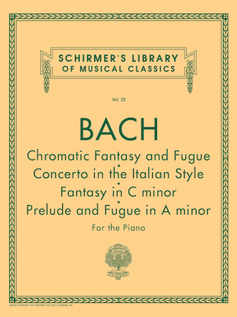 Product Cover for Chromatic Fantasy & Fugue, Concerto in the Italian Style, Fantasy in C Min, Prelude & Fugue in A Min