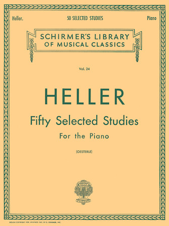Product Cover for 50 Selected Studies (from Op. 45, 46, 47)