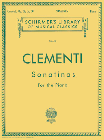 Product Cover for 12 Sonatinas, Op. 36, 37, 38