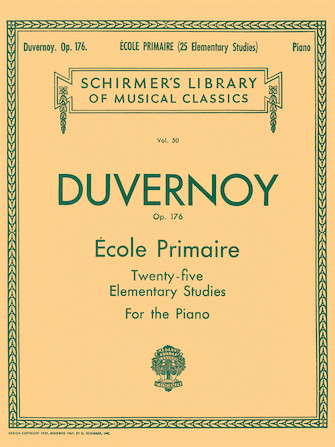 Product Cover for Ecole Primaire (25 Elementary Studies), Op. 176