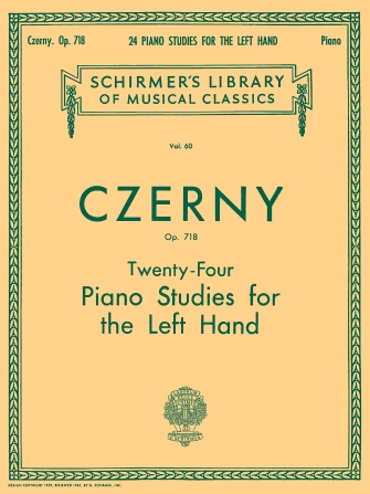 Product Cover for 24 Studies for the Left Hand, Op. 718