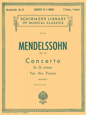 Product Cover for Concerto No. 1 in G Minor, Op. 25