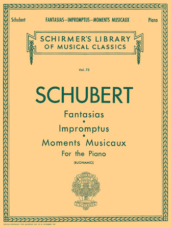 Product Cover for Fantasias, Impromptus, Moments Musicaux