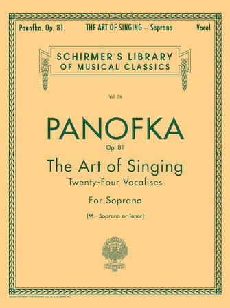 Product Cover for Art of Singing (24 Vocalises), Op.81