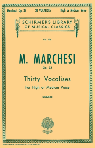 Product Cover for 30 Vocalises, Op. 32