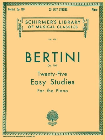 Product Cover for 25 Easy Studies, Op. 100