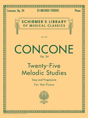 Product Cover for 25 Melodic Studies, Op. 24