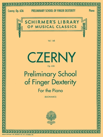 Product Cover for Preliminary School of Finger Dexterity, Op. 636