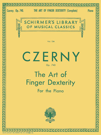 Product Cover for Art of Finger Dexterity, Op. 740 (Complete)