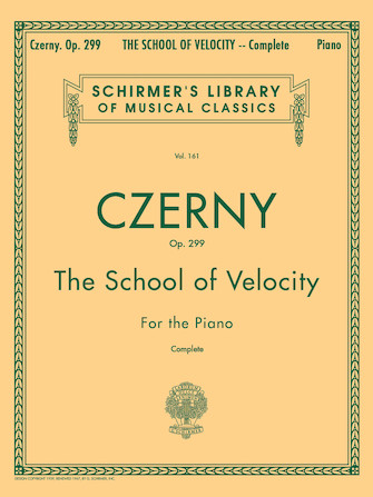 Product Cover for School of Velocity, Op. 299 (Complete)