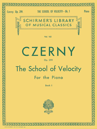 Product Cover for School of Velocity, Op. 299 – Book 1