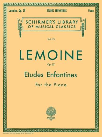 Product Cover for Etudes Enfantines, Op. 37