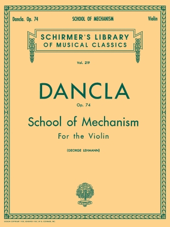 Product Cover for School of Mechanism, Op. 74