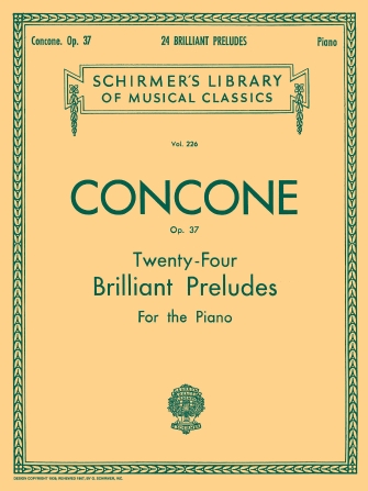 Product Cover for 24 Brilliant Preludes, Op. 37