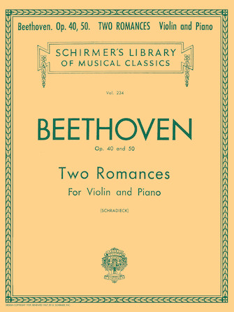 Product Cover for 2 Romanze, Op. 40 and 50