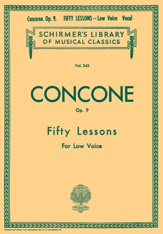 Product Cover for 50 Lessons, Op. 9