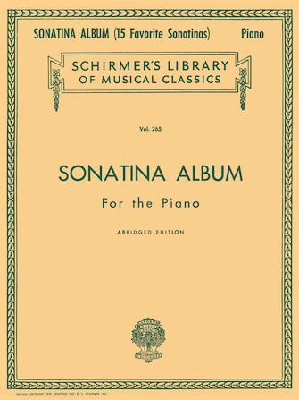 Product Cover for Sonatina Album, Abridged