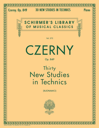 Product Cover for Thirty New Studies in Technics, Op. 849