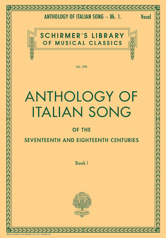 Product Cover for Anthology of Italian Song of the 17th and 18th Centuries – Book I