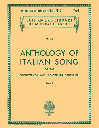 Product Cover for Anthology of Italian Song of the 17th and 18th Centuries – Book II