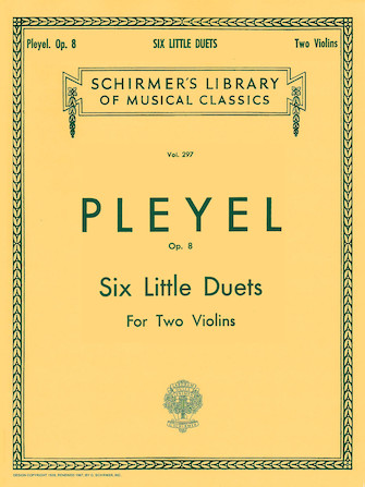 Product Cover for Six Little Duets, Op. 8